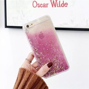 iPhone7/8 Pink Glitter Sands Ultra Slim Phone Case